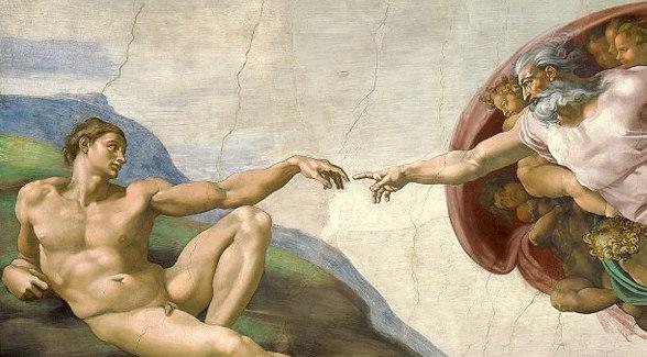 Michelangelo_Creation_of_Adam - copie